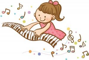 女の子ピアノ