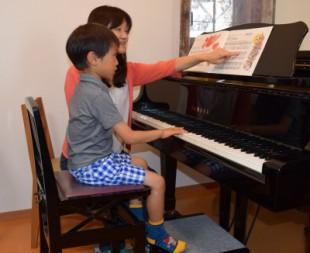 子どものピアノのイメージ
